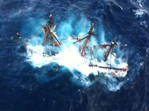 coast guard probing tall ship s sinking captain had