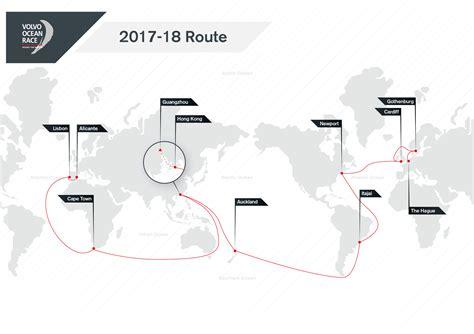 volvo ocean race   route refreshed volvo ocean race