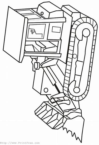 Coloring Pages Machine Construction Equipment Truck Heavy