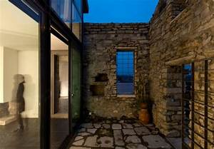 Casa Cabrela Is A Spectacular Modern Structure Surrounding Beautiful Stone Ruins
