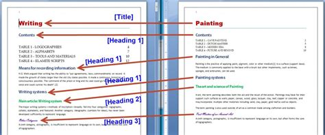 export paragraph styles   ms word