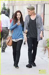 Lily Collins & Jamie Campbell Bower: Yoco Froyo Lovers ...