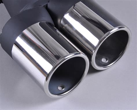 Stainless Steel Chrome Exhaust Tail Muffler Tip Pipe