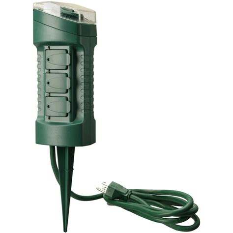 woods yard master  outlet power stake  timer  woods