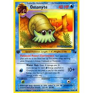 All Fossil Pokemon Cards