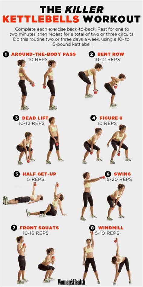 workout killer kettlebells