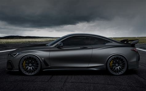 infiniti  project black  concept wallpapers