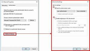 How To Configure Um Wired Network Using Windows 10   U2013 Icto  U2013 Faq