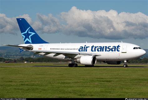 c gtsy air transat airbus a310 304 photo by mcfadyen id 393446 planespotters net