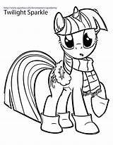 Pony Coloring Pages Christmas sketch template