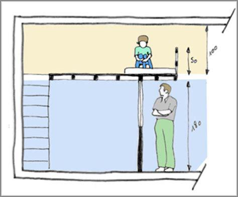 amenager une chambre avec 2 lits les règles d 39 une mezzanine bien pensée ce qu 39 il faut
