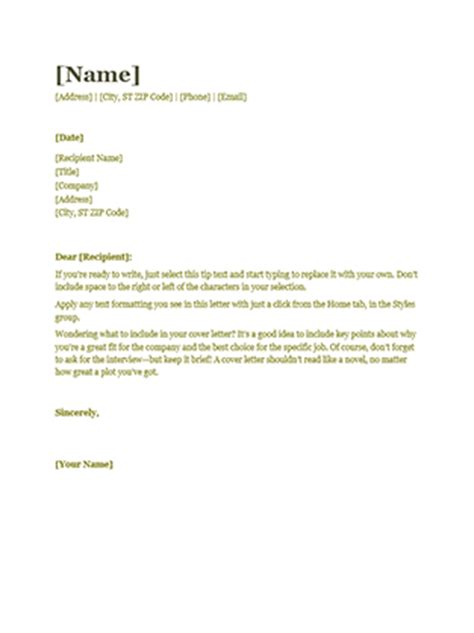 year resume cover letter resume cover letter green office templates