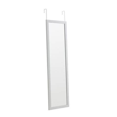 cadre miroir de porte blanc 30 x 120 cm castorama