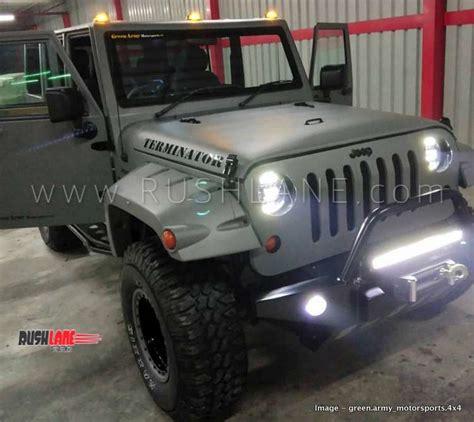 mahindra bolero modified    jeep costs rs  lakhs