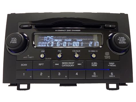 Crv Radio Code by Honda Radio Error Code Erre