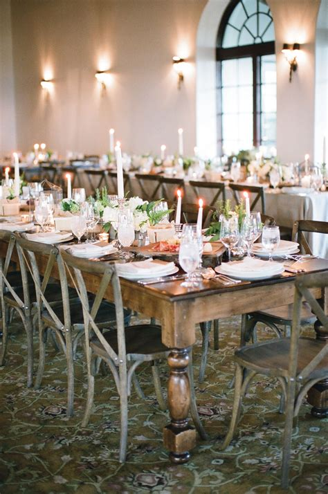 rustic wooden dining table  cross  chairs