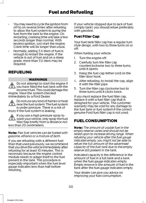 ford ecosport owners manual ford ecosport forum