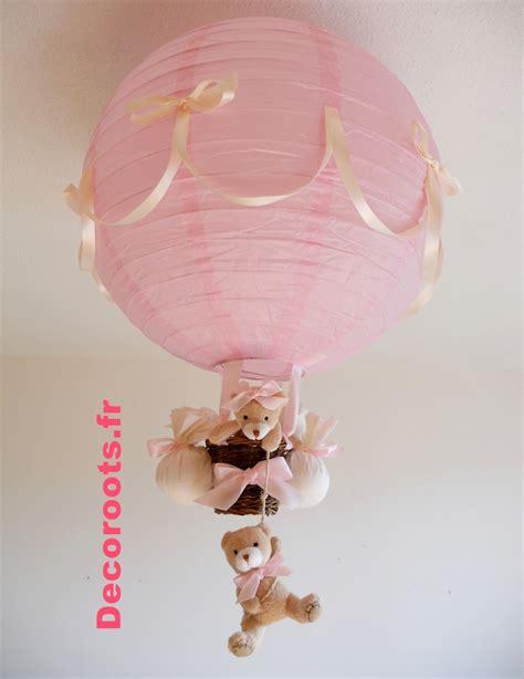 plafonnier chambre bebe fille le montgolfi 232 re enfant b 233 b 233 fille ours et beige enfant b 233 b 233 luminaire enfant b 233 b 233
