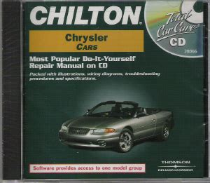 chilton car manuals free download 1994 dodge intrepid parking system 1981 1999 chilton s chrysler cars repair cd rom