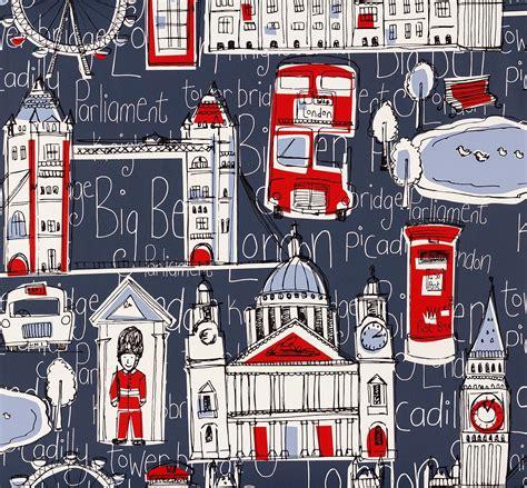 rasch london wallpaper 245912 blue red cut price wallpaper crewe