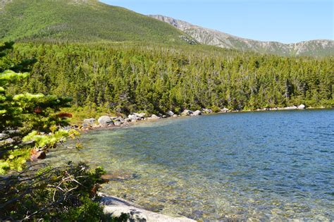 Chimney pond trail baxter state park. Baxter State Park - Chimney Pond Trail:Roaring Brook to Lo ...