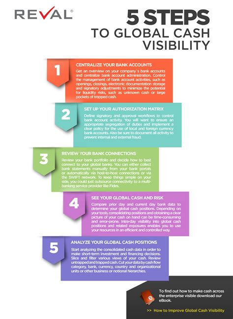 5 Steps To Global Cash Visibility Reval