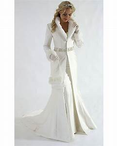 new arrivals winter wedding dress wedding coat v neck long With dress for winter wedding