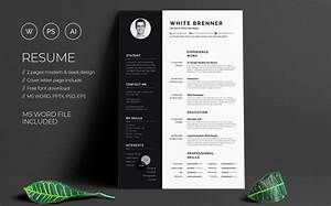 Professional Letter Template Word 40 Best 2020 39 S Creative Resume Cv Templates Printable Doc