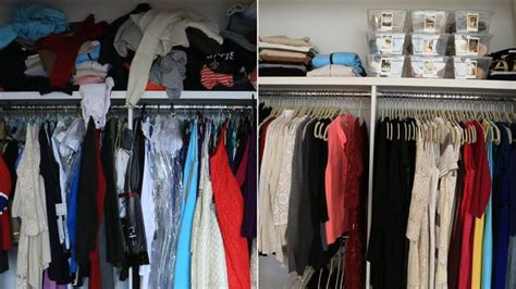 Transformation Organize Your hoda kotb closet before after