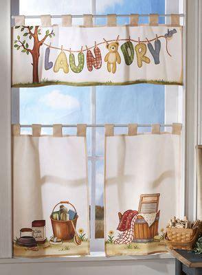 Laundry Room Curtains  Pc Laundry Room Window Curtain
