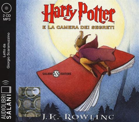libro harry potter  la camera dei segreti audiolibro