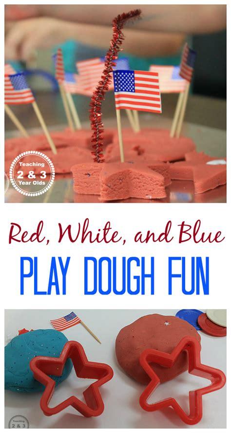 super easy   july playdough activity playdough