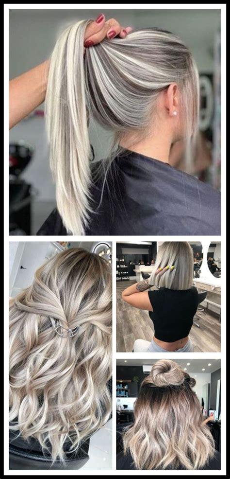 2020 Coolest Hair Color Trends Pretty blonde hair Hair