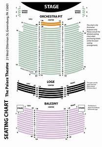 Seating Chart  U2013 The Palace Theatre