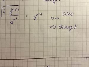 Fakultät Berechnen Java : konvergenzgebiet von summe n 1 a n x n mathelounge ~ Themetempest.com Abrechnung