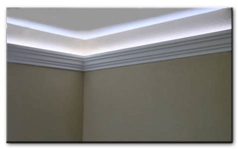 Foam Crown Molding For Indirect Led And Rope Lighting