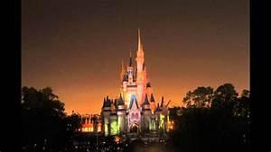 Burbank Christmas Lights Walt Disney World Holiday Castle Light Show Youtube