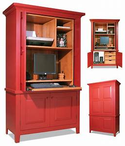 Computer Armoire - Popular Woodworking Magazine