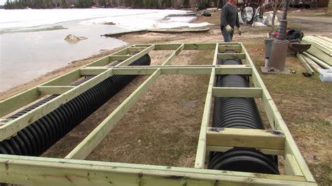Floating Boat Garden Design by Floating Boat Dock Design Plans