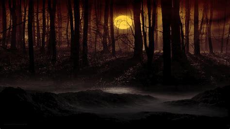 dark forest moon wallpaper phone outdoors wallpaper p