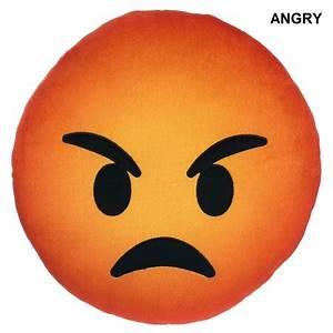 Emoji Angry Pillow - Walmart.com  Angry