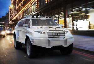 Prombron Black Shark Luxury Armored SUV - Cars show