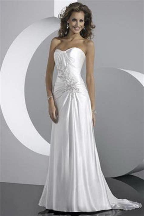 beach simple wedding dresses
