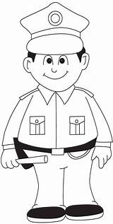 Coloring Police Policeman Pages Printable Officer Sheets Cesar Chavez Printing Template Policista Paper Colouring Worksheets Info Officers Policemen Dolls Getcolorings sketch template