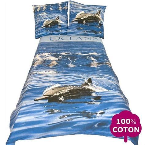 housse de couette dauphin parure de lit dauphin oceans