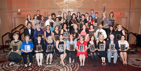 Wesd Honors 42 With Lamp Of Learning Awards