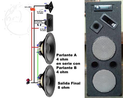 conexiones muy simples para parlantes crossover pasivo electr 243 nica muy simple y sistema