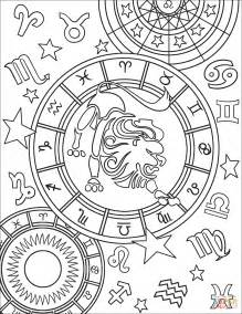 horoscope coloring pages  getcoloringscom  printable colorings pages  print  color