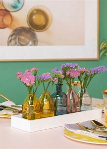 Weekend Project  Make A Glitter Bud Vase Tray For Mom