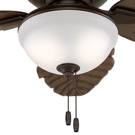 hunter outdoor ceiling fans hunter fan 52 quot outdoor ceiling fan with led light kit